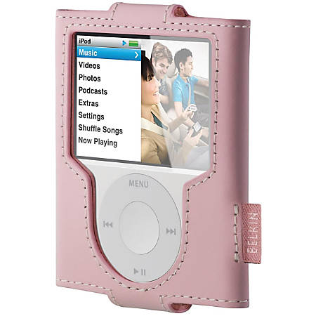 Belkin Leather Sleeve for iPod nano 3G - Leather - Pink
