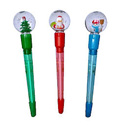 Pure Style Snow Globe Ballpoint Pen
