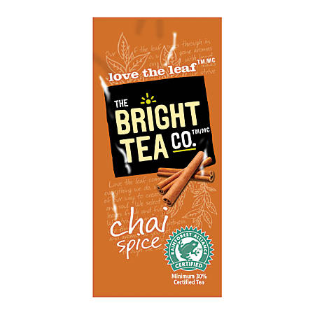 MARS DRINKS™ Flavia® The Bright Tea Co.™ Chai Spice Tea Freshpacks, 0.25 Oz, Case Of 100