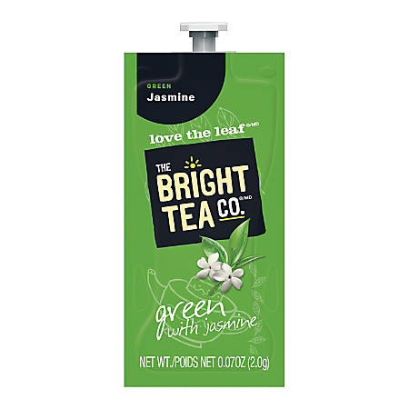 MARS DRINKS™ Flavia® The Bright Tea Co.™ Green with Jasmine Tea Freshpacks, 0.25 Oz, Case Of 100