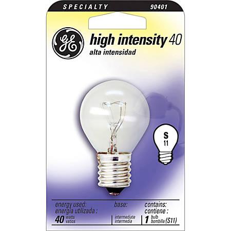 GE High-Intensity Bulb, 40 Watts