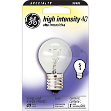 GE High Intensity Bulb 40 Watts