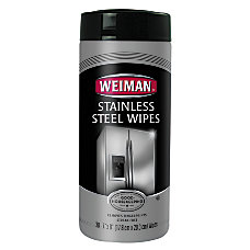 Weiman Stainless Steel Wipes 7 x