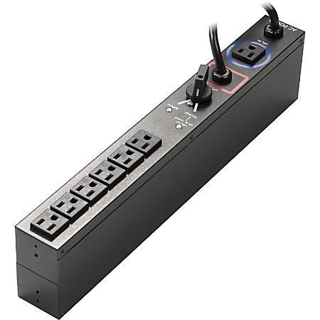 "Eaton HotSwap MBP 6-Outlets 1.92kVA PDU - 6 x NEMA 5-20R - 1.92kVA - 2U 19"" Rack-mountable"
