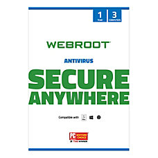 Webroot Internet Security With Antivirus Protection