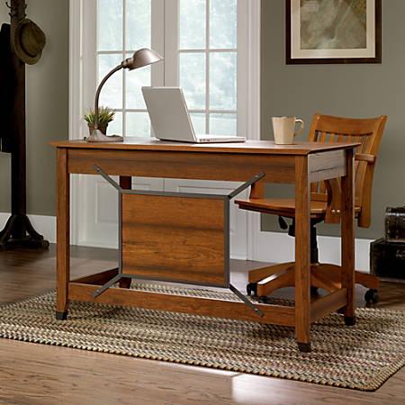 Sauder® Carson Forge Writing Desk, Washington Cherry