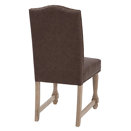Ave Six Kingman Dining Chair, Elite Espresso/Tan