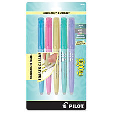 Pilot FriXion Light Pastel Erasable Highlighters