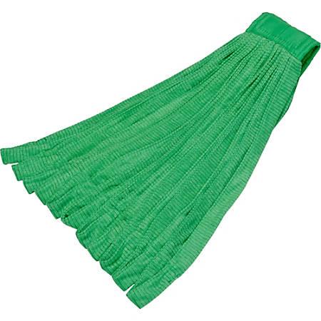 SKILCRAFT® Microfiber Tube Mophead, Green