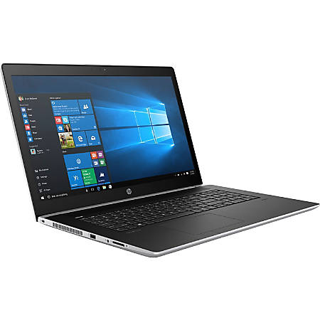 "HP ProBook 470 G5 17.3"" LCD Notebook - Intel Core i7 (8th Gen) i7-8550U Quad-core (4 Core) 1.80 GHz - 8 GB DDR4 SDRAM - 1 TB HDD - Windows 10 Pro 64-bit (English) - 1600 x 900 - In-plane Switching (IPS) Technology - Natural Silver"
