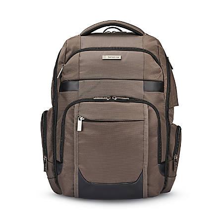 Samsonite® Tectonic Sweetwater Laptop Backpack, Iron Gray