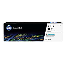 HP 201X High Yield Black Toner