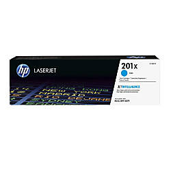 HP 201X High Yield Cyan Toner