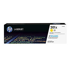 HP 201X High Yield Yellow Toner