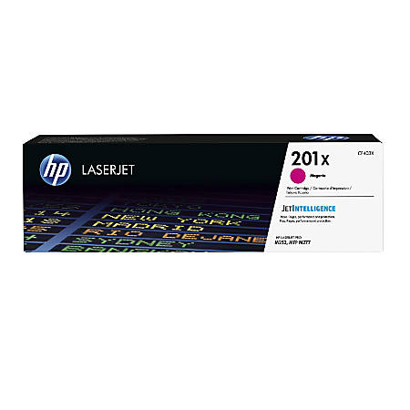 HP 201X (CF403X) High Yield Magenta Original LaserJet Toner Cartridge