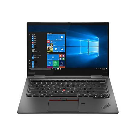 "Lenovo ThinkPad X1 Yoga 4th Gen 20QF000KUS 14"" Touchscreen 2 in 1 Ultrabook - 2560 x 1440 - Core i7 i7-8665U - 16 GB RAM - 512 GB SSD - Gray - Windows 10 Pro 64-bit - Intel UHD Graphics 620 - In-plane Switching"