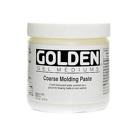 Golden Molding Paste, Coarse, 16 Oz