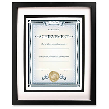 Dax Burns Group Airfloat Certificate Frame 8 x 10 Frame Size ...