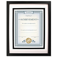 Dax Burns Group Airfloat Certificate Frame