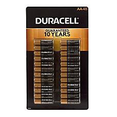 Duracell Alkaline AA Batteries Pack Of
