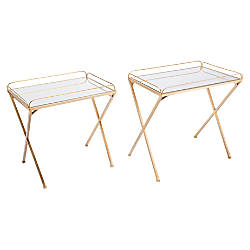 Zuo Modern Opposite Tray Tables Rectangular