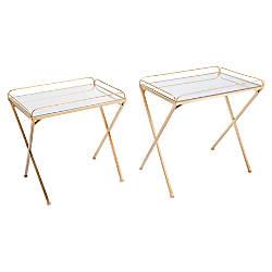 Zuo Modern Opposite Tray Tables Rectangular