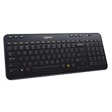 Logitech K360 Wireless Keyboard Glossy Black