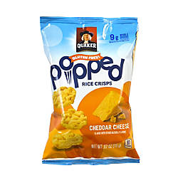 Quaker Cheddar Cheese Popped Rice Crisps