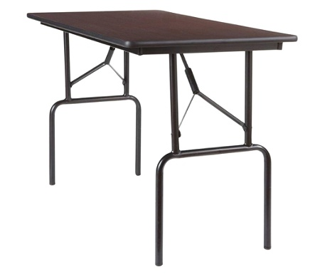 Reale Folding Table 29 H X 48 W 24 D Walnut By Office Depot Officemax