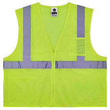Ergodyne GloWear Safety Vest Treated Polyester