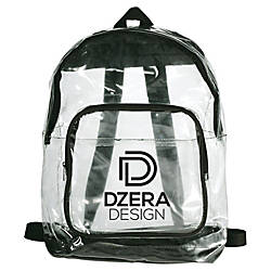 Rally Clear Backpack 16 14 x