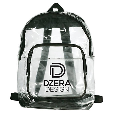 "Rally Clear Backpack, 16 1/4"" x 12"""
