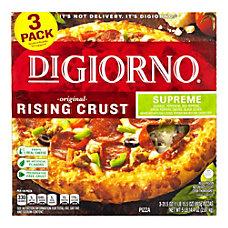 DiGiorno Rising Crust Frozen Pizzas Supreme