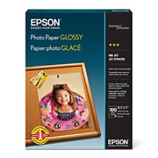 Epson Glossy Photo Paper 8 12