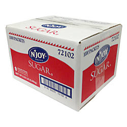 Sugar Packets Box Of 1000