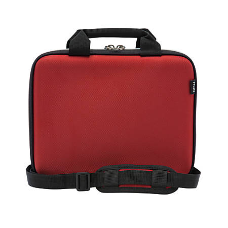 """Nuo Tablet Slim Brief For Apple® iPad® And Tablets Up To 10"""", Red"""