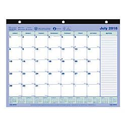 Brownline 13 Month Monthly Academic Desk
