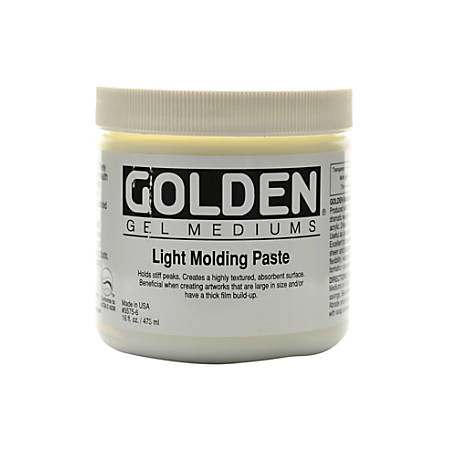 Golden Molding Paste, Light, 16 Oz