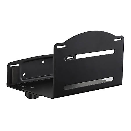 "Mount-It! MI-7152 CPU Wall Mount Bracket, 7""H x 9""W x 6""D, Black"