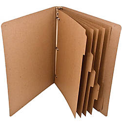ReBinder 100percent Recycled 5 Tab Dividers