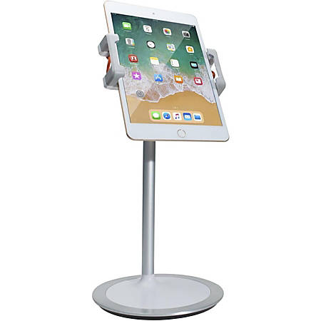 CTA Digital Height-Adjustable Desktop Tablet Stand