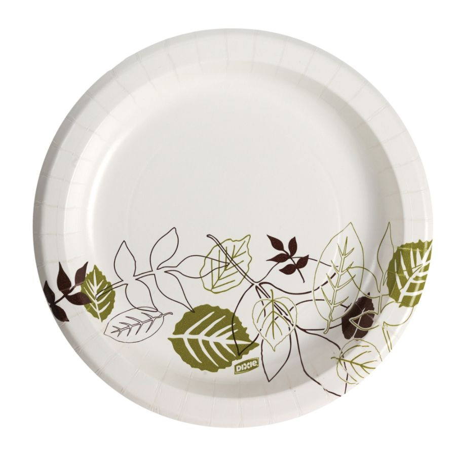 Dixie Paper Plates 8 12 Diameter Pathways Design Pack Of 125 by Office Depot u0026 OfficeMax  sc 1 st  Office Depot & Dixie Paper Plates 8 12 Diameter Pathways Design Pack Of 125 by ...