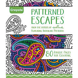 Crayola Aged Up Coloring Book For