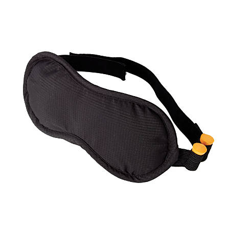 "Samsonite® Microbead Eye Mask, 7""H x 3 3/16""W x 1""D, Black"