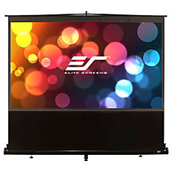 Elite Screens F80NWX ezCinema Portable Floor