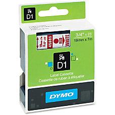 DYMO D1 45805 Red On White