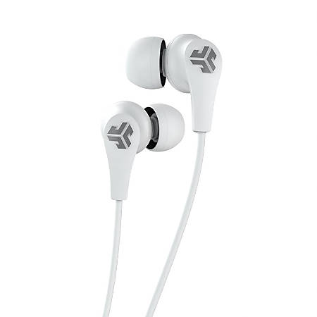 JLab JBuds Pro Wireless Earbud Headphones, White, EBPRORWHTGRY123