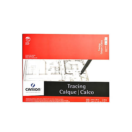 "Canson Tracing Pad, 19"" x 24"", 50 Sheets"