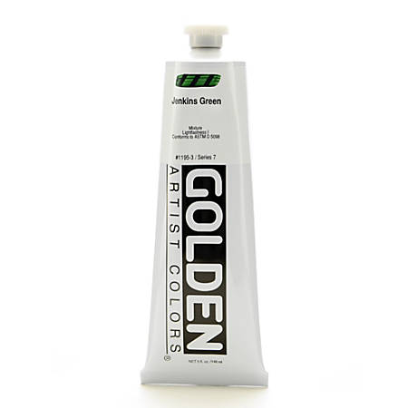 Golden Heavy Body Acrylic Paint, 5 Oz, Jenkins Green