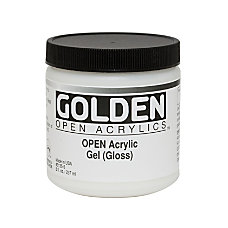 Golden OPEN Acrylic Mediums Gel Medium